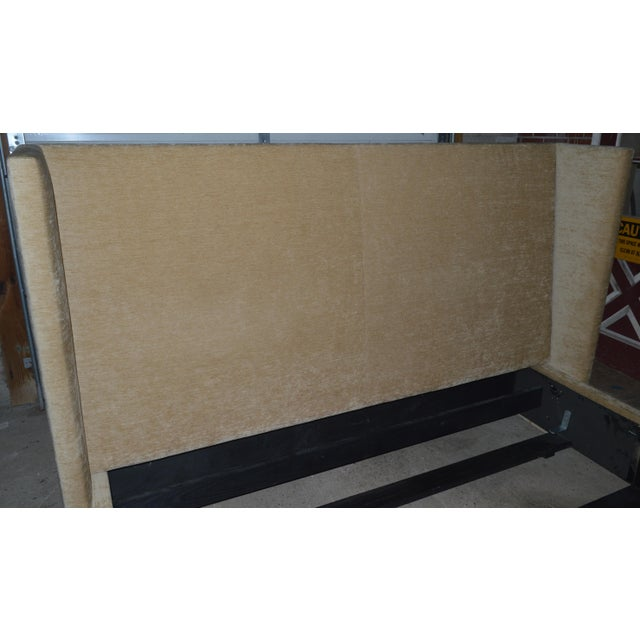 Late 20th Century Ralph Lauren Upholstered King Bed For Sale - Image 5 of 10