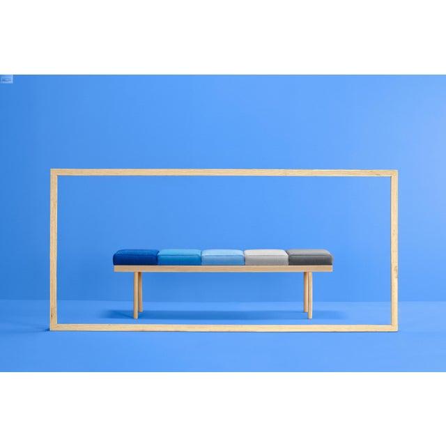 Modern Valentino Bench, Studio Missana For Sale - Image 3 of 6