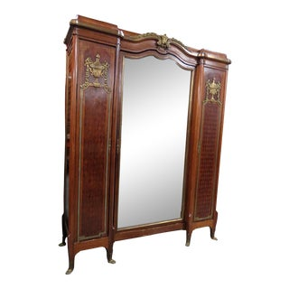 Regency Style Wardrobe Attr Forest For Sale