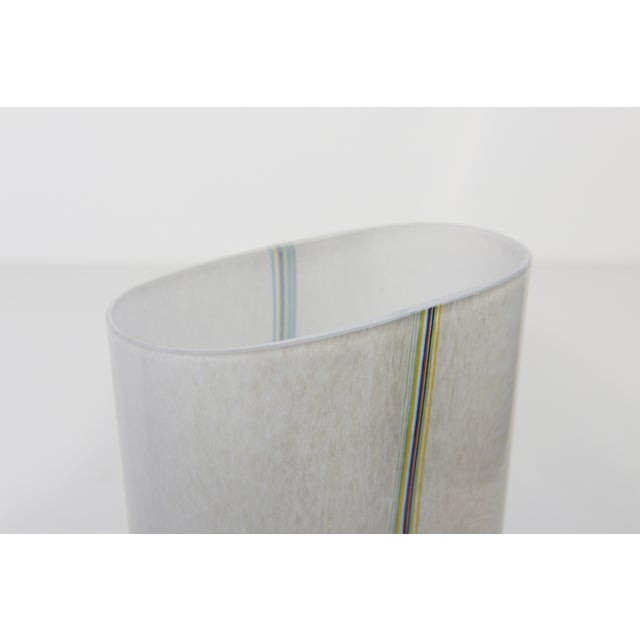 Bertil Vallien Kosta Boda Art Glass Vase - Image 7 of 9