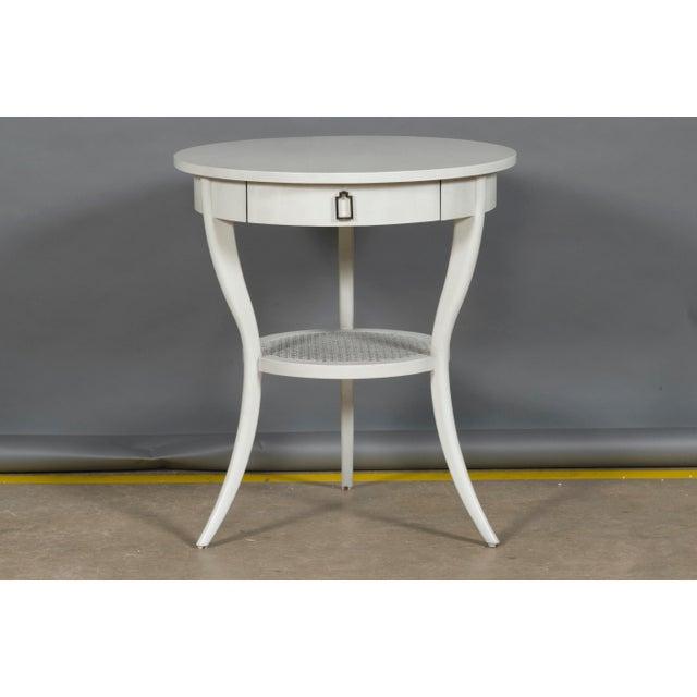 Vanguard Furniture Vanguard Furniture Miranda Lamp Table For Sale - Image 4 of 4