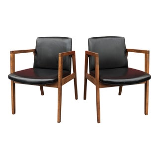 1960s Vintage Marble Imperial Chairs - A Pair For Sale