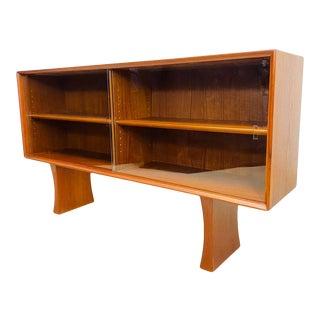 1960s Arne Vodder Danish Modern Teak Bookcase For Sale