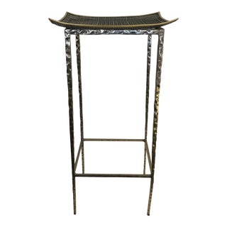 Century Furniture Giacometti Styled Side Table For Sale