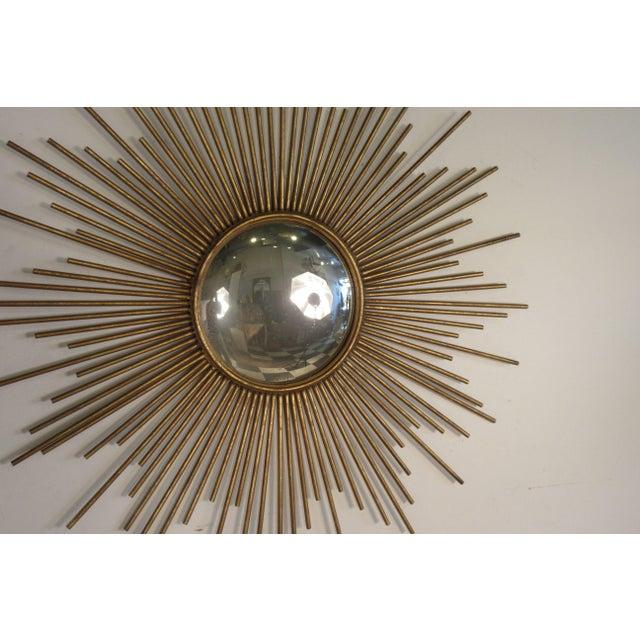 Sunburst Convex Mirror For Sale - Image 4 of 10