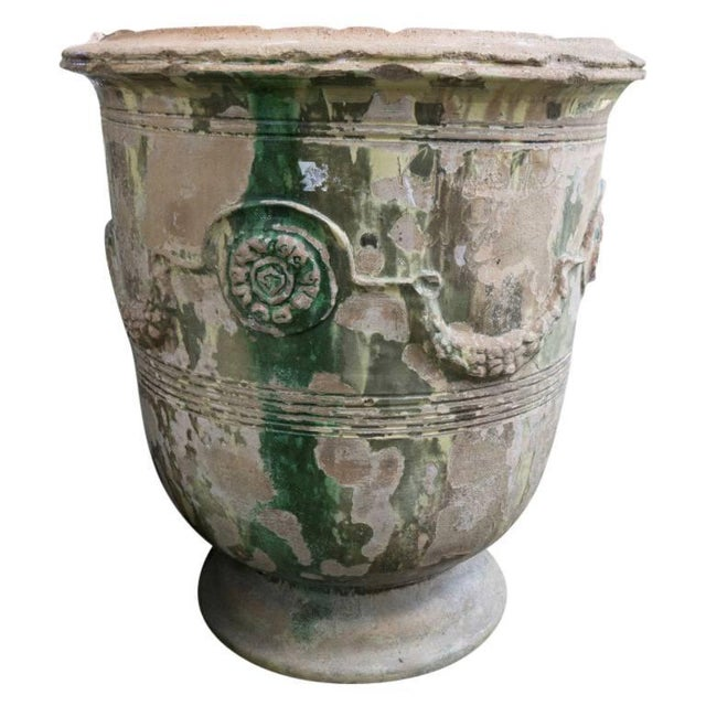 Concrete 19th Century Grand Anduze Jars For Sale - Image 7 of 13