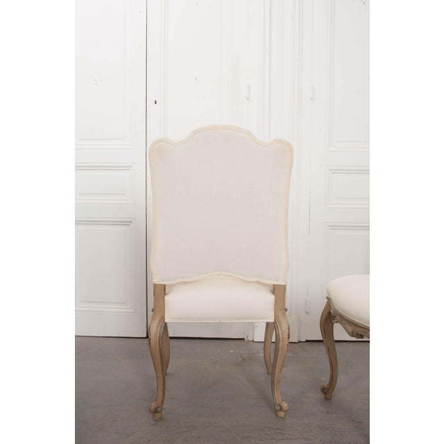 2010s French Louis XV Style Reproduction Dining / Side Chairs - Set of 4 For Sale - Image 5 of 13