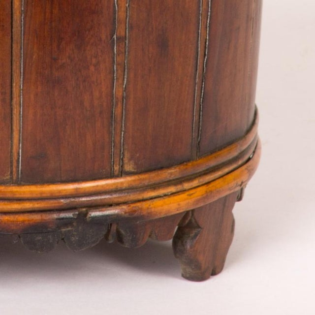 Mid-Century Modern Wood Spice Bucket From Mid-19th Century Sweden For Sale - Image 3 of 5