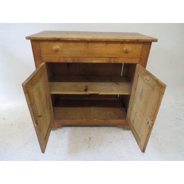 1920s Antique French Rustic Cabinet - Image 9 of 9