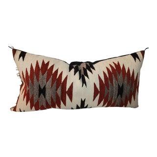Geometric Eye Dazzler Bolster Pillow For Sale