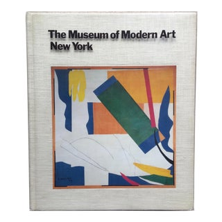 """""""The Museum of Modern Art""""-First Edition, 1984-Abrams Publishing-Acetate Cover For Sale"""