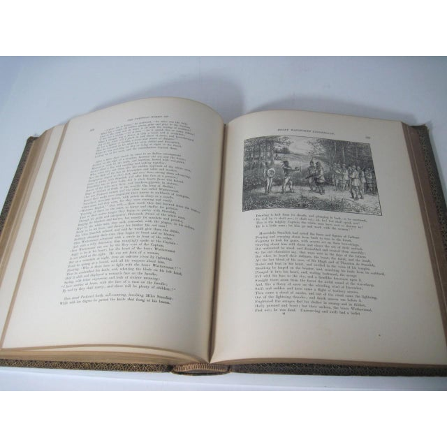 The Poetical Works of Henry Wadsworth Longfellow Illustrated For Sale - Image 9 of 13