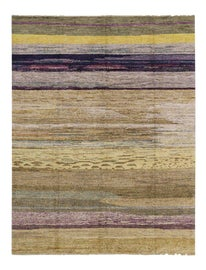 Image of Eggplant Contemporary Handmade Rugs