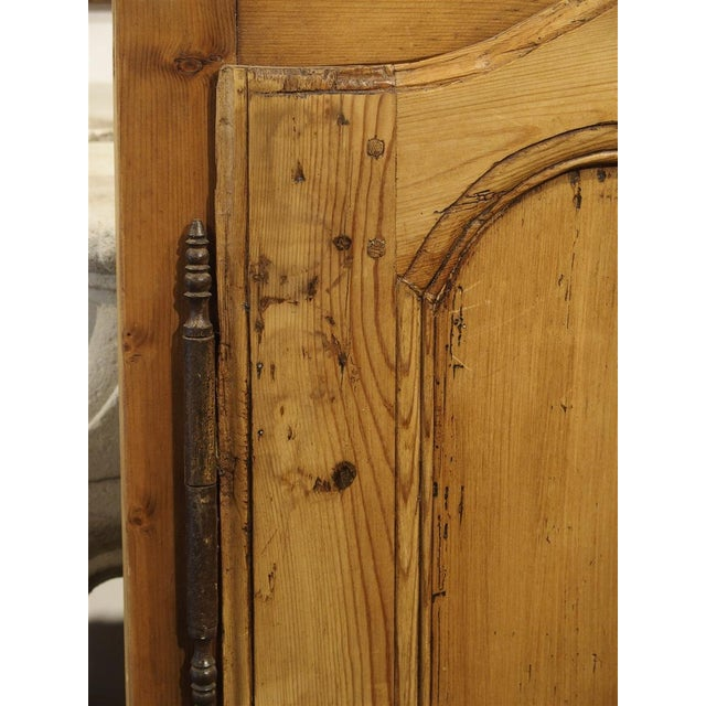 Late 19th Century Pair of Antique French Pine Cabinet Doors, 19th Century For Sale - Image 5 of 11