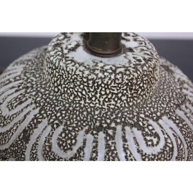 Design Technics Textured Ceramic Table Lamp - Image 4 of 7