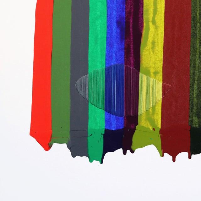 """Fils I Colors Cccxciii"" Original Artwork by Raul De La Torre For Sale - Image 4 of 9"