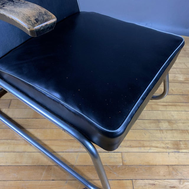 1950s Drabert Germany Cantilever Armchair For Sale - Image 11 of 12