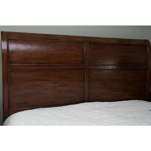 Bernhardt Vintage Patina Collection King Bed For Sale In New York - Image 6 of 11