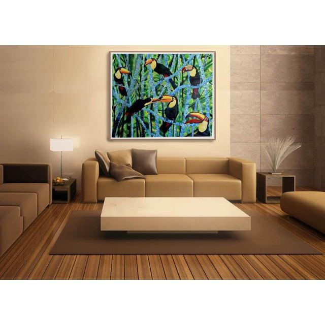 Ramphastos Fantasia Acrylic Painting - Image 5 of 10