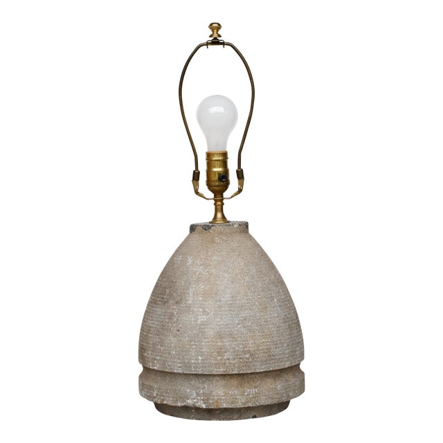 French Granite Lamp For Sale