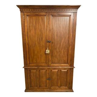 Ballard Design Armoire with Desk For Sale