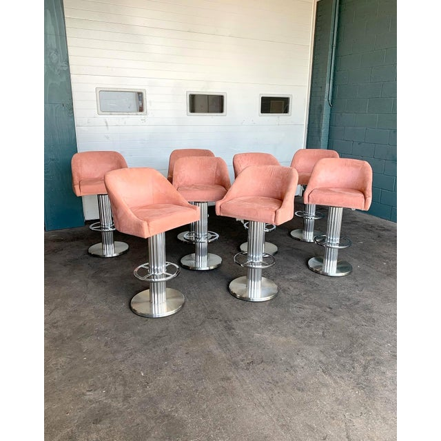 Design for Leisure Bar Stools - Set of 8 For Sale - Image 11 of 11