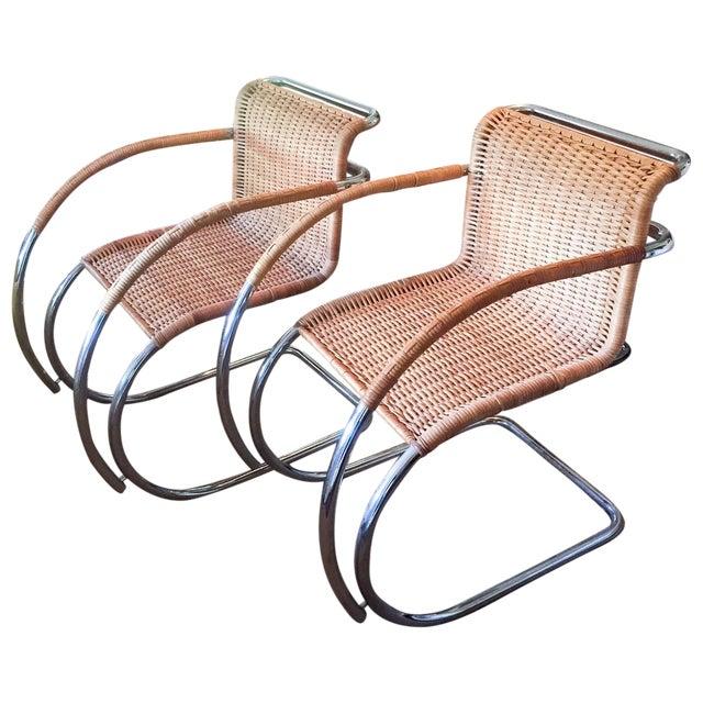 MCM Mies Van Der Rohe - Mr 20 Chairs - Set of 6 - Image 4 of 13