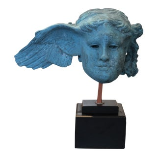 "20th Century Figurative ""Hypnos"" the God of Sleep Sculpture"