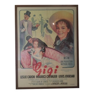"Original Antique ""Gigi"" Poster"