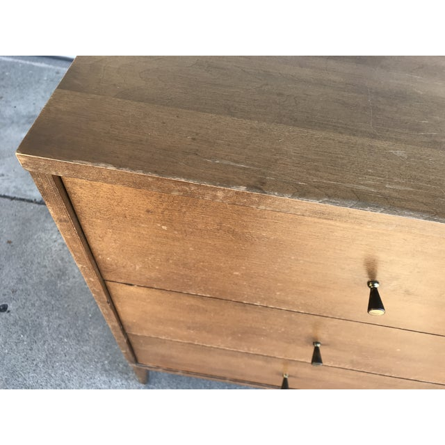 Brass 1960s Mid-Century Modern Paul McCobb Sideboard For Sale - Image 7 of 13