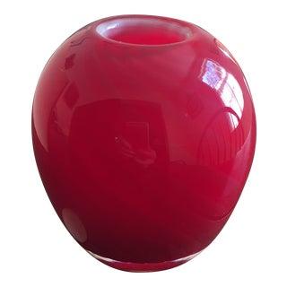20th Century Italian Handblown Murano Art Glass Bud Vase For Sale