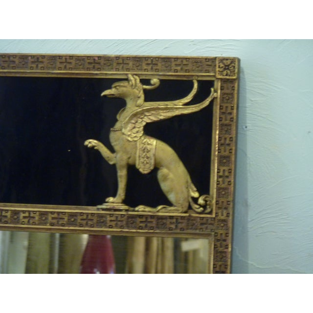 Art Deco Early 20th Century Antique Art Deco Mirror For Sale - Image 3 of 8