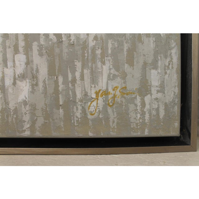 Abstract John Richard Abstract Framed Oil Painting For Sale - Image 3 of 6
