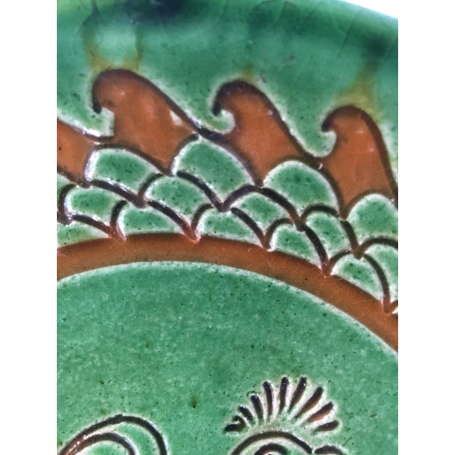Spanish Decorative Hanging Plate Paco Tito of Ubeda, Spain, Rooster For Sale - Image 4 of 12