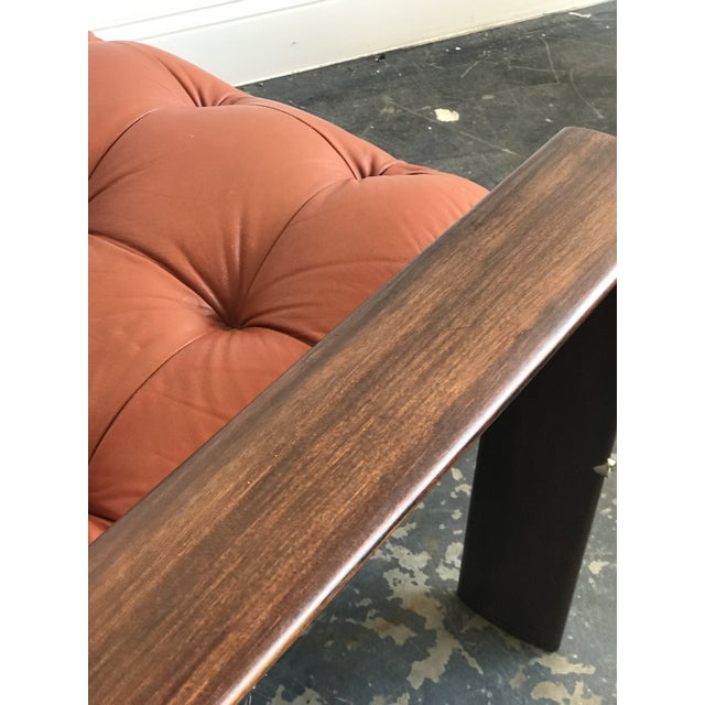 Wood Mid Century Modern Model Mp-129 Percival Lafer Lounge Chair For Sale - Image 7 of 11