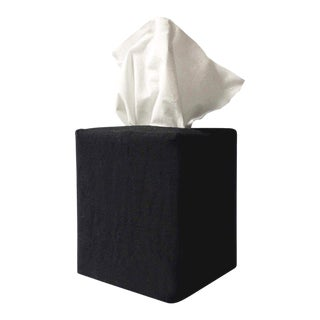 James Tissue Cover in Black For Sale