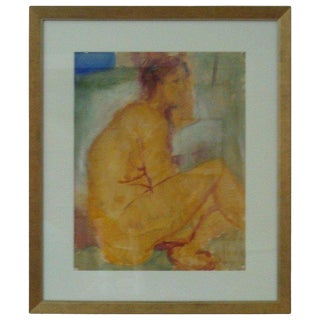 Nude Painting by Italo Botti For Sale