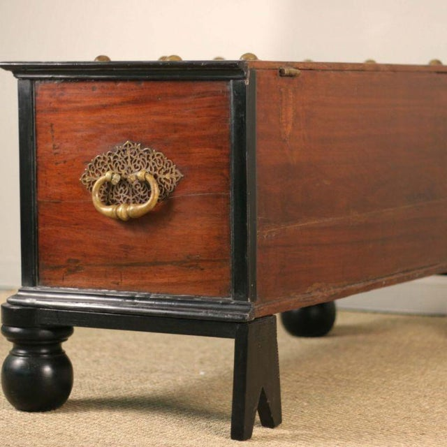 Indo-Dutch 19th C. Trunk - Image 4 of 6