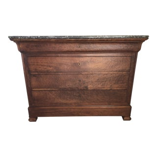 19th Century Empire Louis Philippe Chest of Drawers For Sale