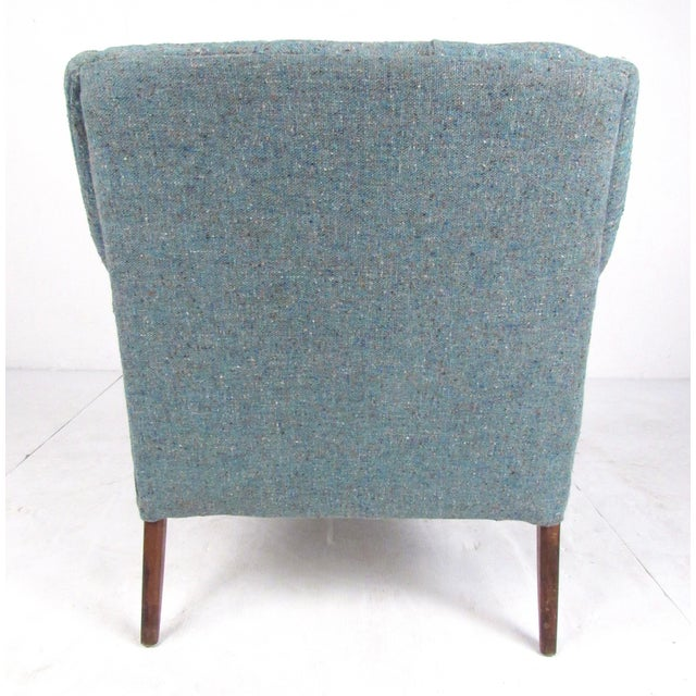 1960s Pair Danish Modern Lounge Chairs For Sale - Image 5 of 13