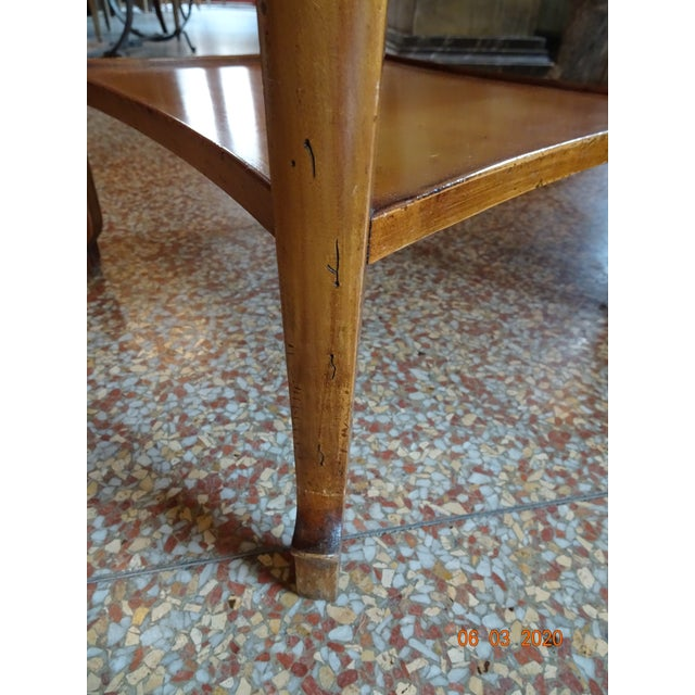 Wood Antique Marble French Rafraichissoir For Sale - Image 7 of 12