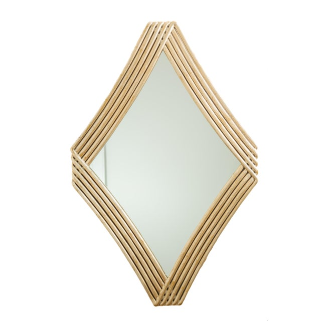 Christopher Guy Diamond Wave Mirror For Sale