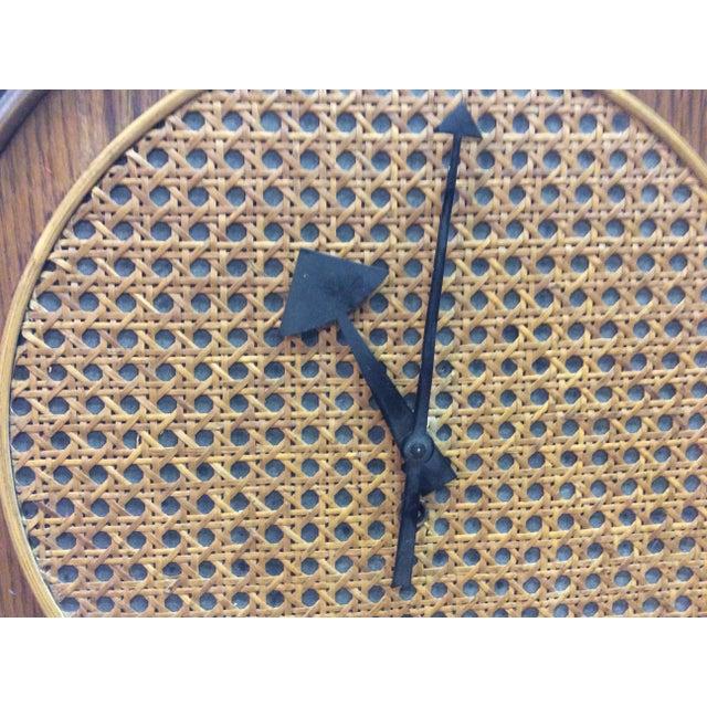 Rare Arthur Umanoff Howard Miller Key Wind Pendulum Clock For Sale In New York - Image 6 of 11