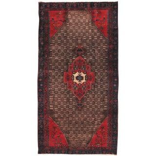 "Vintage Serab Wool Area Rug - 4'9"" X 9'3"" For Sale"