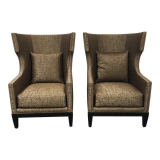 Ironies Tule Lounge Chairs- a Pair For Sale