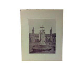 "Antique Glimpses of India Print, ""Memorial Well - Cawnpore"", Circa 1890 For Sale"