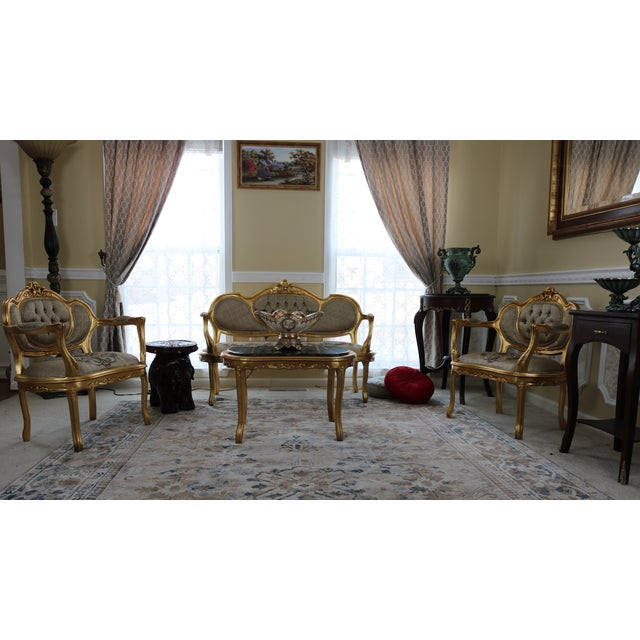 It is reproduction of Louis XV done in Middle East by our company. We are specialized in reproduction of European...