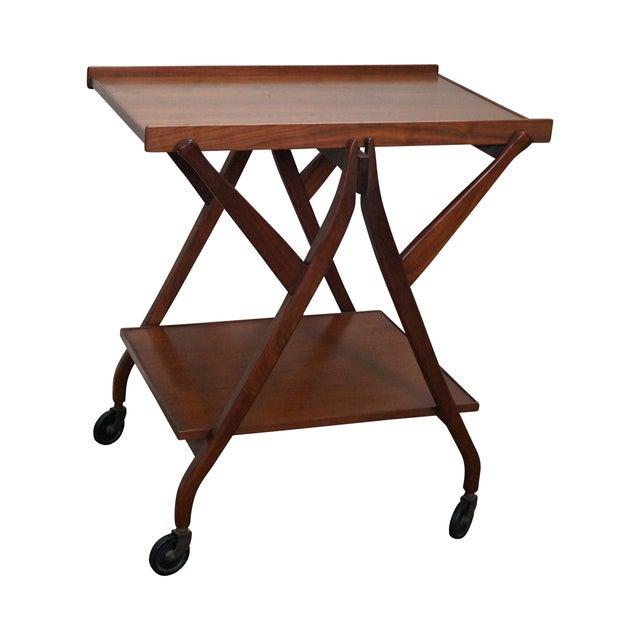 Kipp Stewart for Drexel Midcentury Server Bar Cart - Image 1 of 10