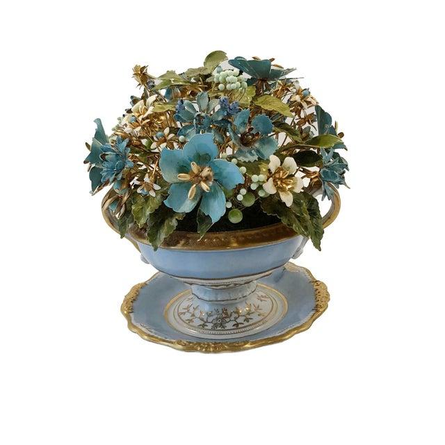 1970s Fleurs Des Siecles in Porcelain Cachepot For Sale - Image 5 of 5