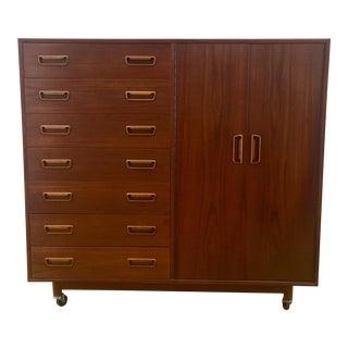 1960s Danish Modern Teak Dresser For Sale